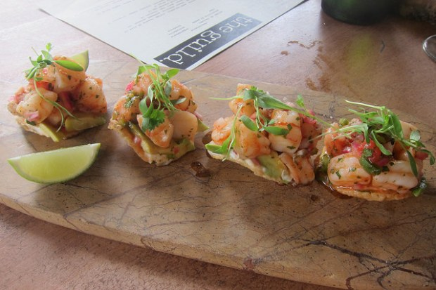 tiger shrimp ceviche