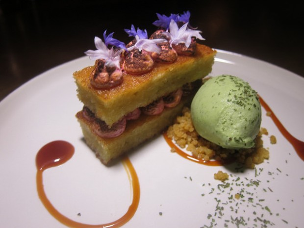 beet trifle