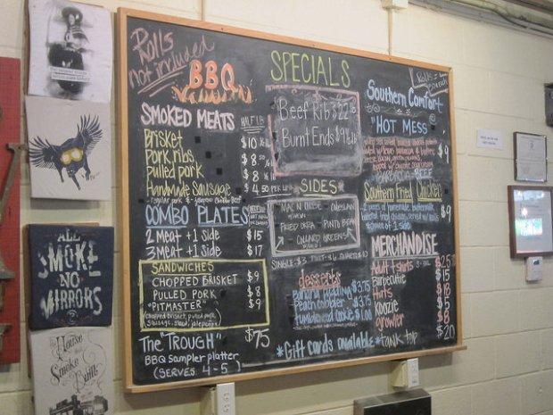 Pecan Lodge menu