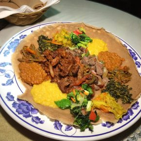 combo 3 at Little Ethiopia Restaurant