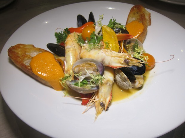 shellfish soup
