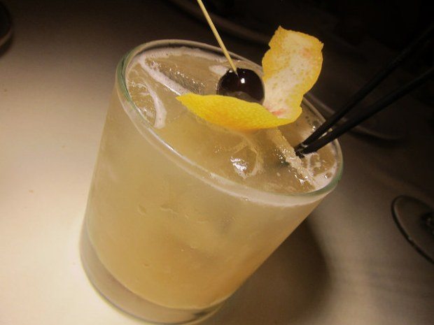 Whiskey Flower Sour