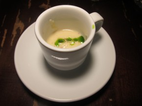 celery root clam chowder