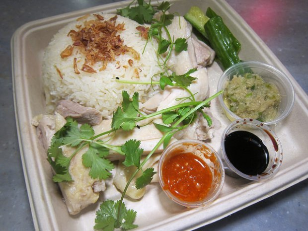 Sgv Hainan Chicken At Side Chick The Minty