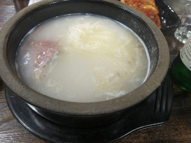 sul lung tang (beef soup)