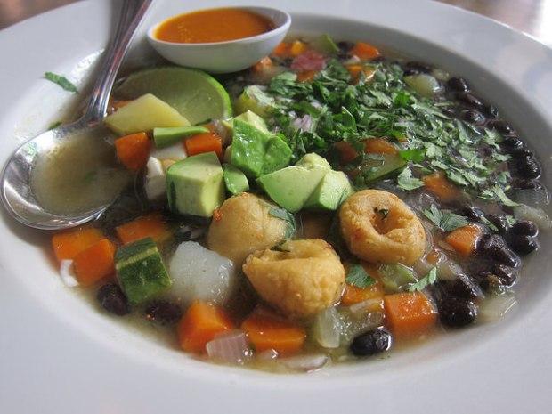 maize dumplings soup
